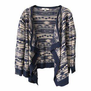 Ya Aztec Western Knit Cardigan Sweater Onesize